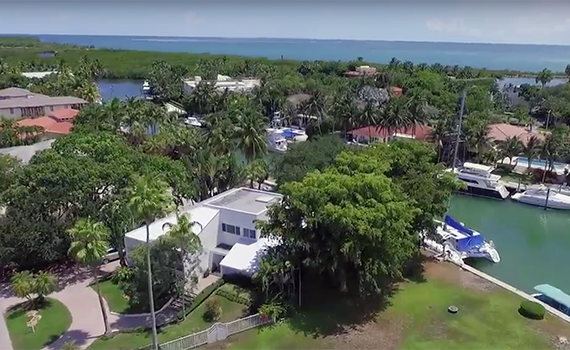 940 Mariner Drive in Key Biscayne (via YouTube)