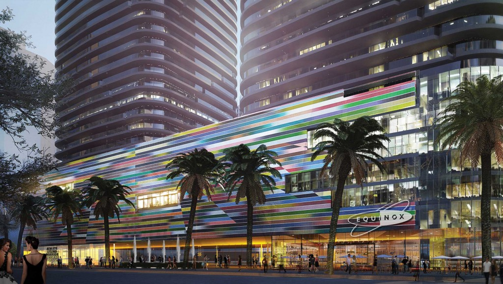 A rendering of Brickell Heights