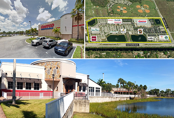 Costco-anchored shops in Royal Palm Beach