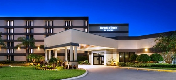 DoubleTree by Hilton hotel at 12175 High Tech Avenue in Orlando