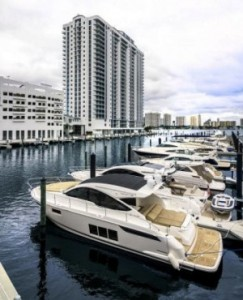 Marina Palms Yacht Club & Residences in North Miami Beach