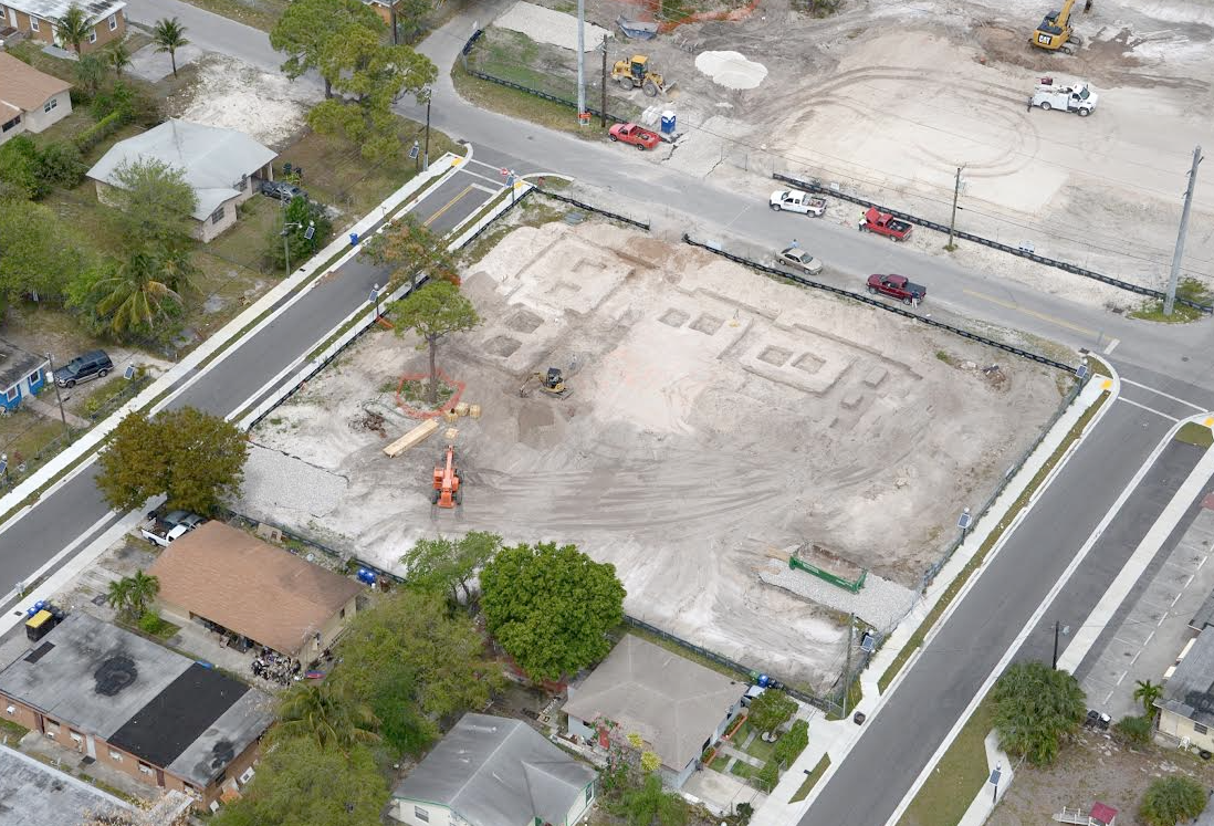 Aerial view of Northwest Gardens V in Fort Lauderdale