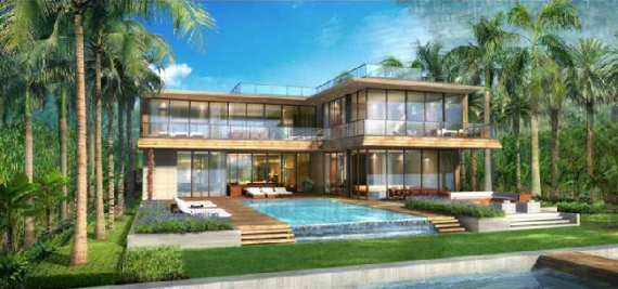 Rendering of Peter Fine's plans for 158 Palm Avenue