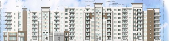 Rendering of Broadstone at Clematis (via the Palm Beach Post)