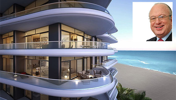 Rendering of Faena House (Inset: Paul L .Cejas)