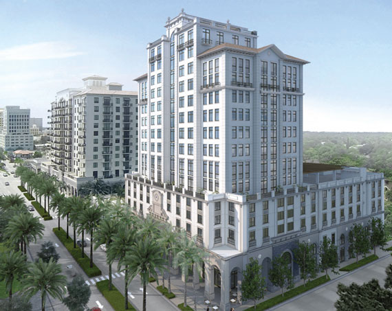 Rendering of Ofizzina 1200 in Coral Gables