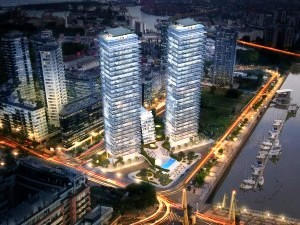 Rendering of Puerto Madero in Buenos Aires