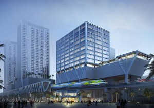 Rendering of Two MiamiCentral