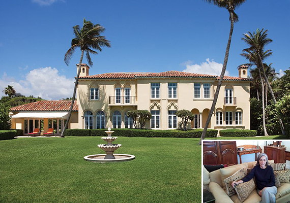 Kluge estate in Palm Beach and Donna Trilby