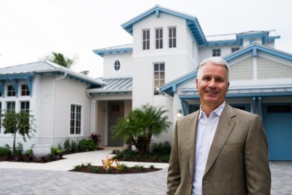 Mark Wilson, president and CEO of London Bay Homes in Naples