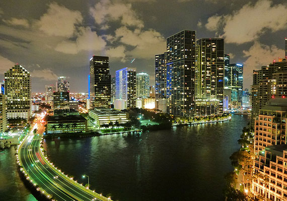 2012 photo of the Miami skyline