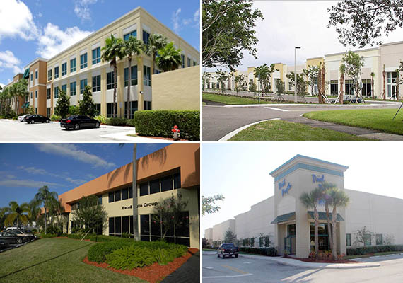 Portfolio of office and industrial buildings that Milhous sold