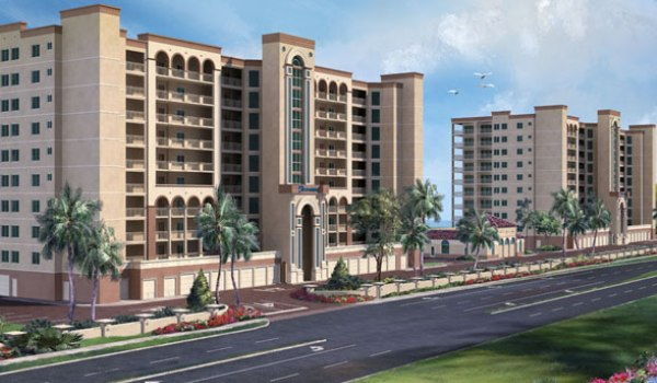 Rendering of Oceana Oceanfront Condominium in Satellite Beach