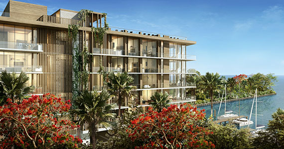 Rendering of the Fairchild Coconut Grove