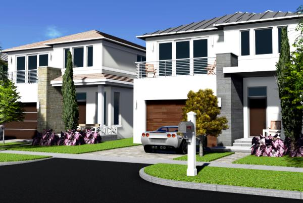 Rendering of the Beach House development in Fort Lauderdale