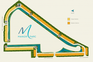 Layout of Manor Parc