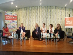 A panel at Bisnow's Thursday event