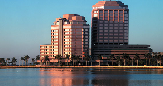 The Phillips Point office complex in West Palm Beach