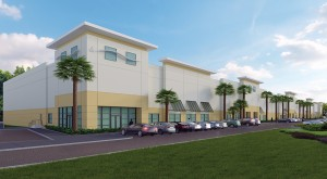 Rendering of a warehouse at Turnpike Crossings