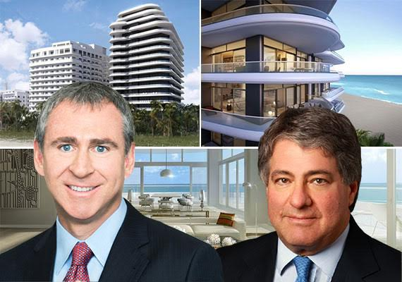 Renderings of Faena House, Ken Griffin and Leon Black
