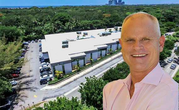 2000 South Dixie Highway (Inset: Scott Sime of Sime Realty)