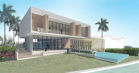 Rendering of the home at 2300 Bay Avenue