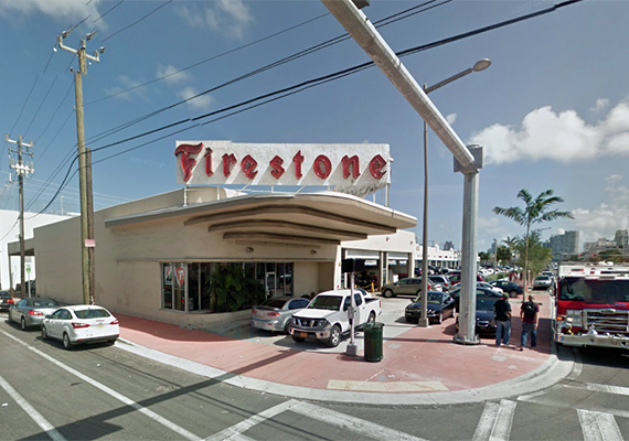Firestone at 1575 Alton Road
