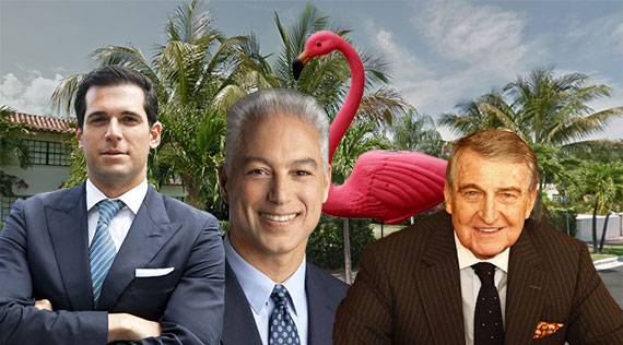 Flamingo Drive (Inset from left: Oren Alexander, Nelson Gonzalez and Rahmi Koç)