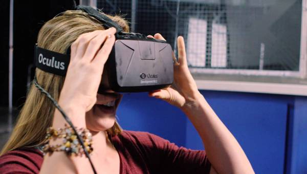 Lowe's offers a virtual reality headset to customers so they can preview a home improvement project before starting it.