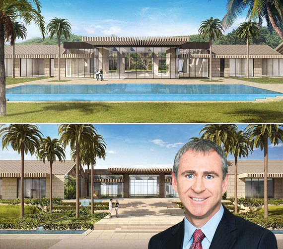 Renderings of Blossom Way (Credit: Palm Beach Daily News) and Ken Griffin
