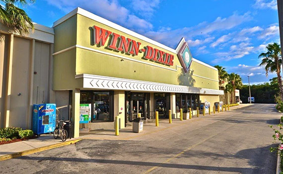 Winn-Dixie's former location at the soon-to-be redeveloped Riverwalk Plaza