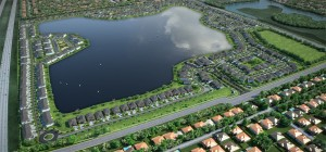 Rendering of Lennar's Satori community