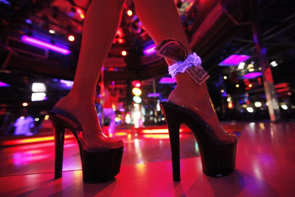 The Mons Venus strip club in Tampa. (Credit: AP Photo/Charlie Riedel)