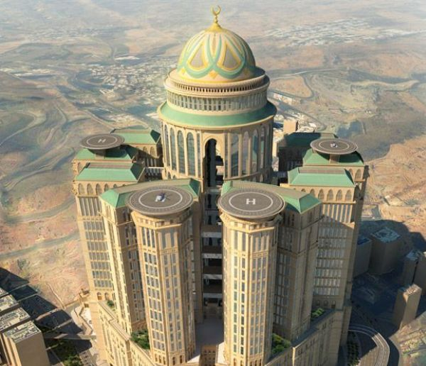 Rendering of Abraj Kudai in Mecca, Saudi Arabia