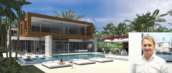 Rendering of 135 Palm Avenue. (Inset: Pascal Nicolai)