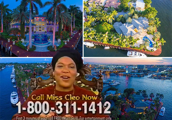 Miss Cleo and 2501 Mercedes