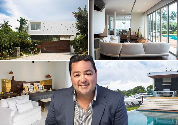 Sunset Islands house and Yvan Martinez