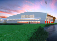UM indoor football facility rendering SMALL