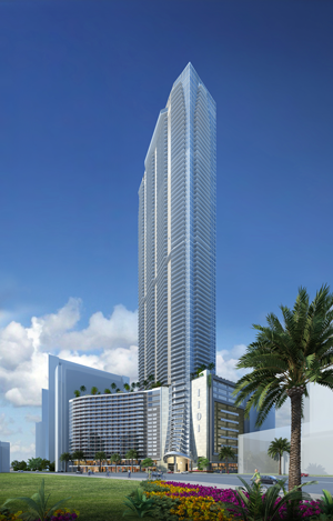 About 6 percent of the estimated $800 million cost of Panorama Tower, located in Miami's Brickell district, is expected to come from EB-5 investors.