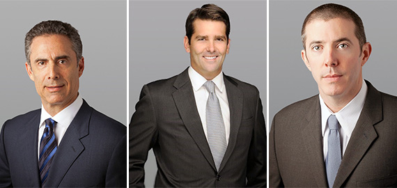 Robert Kaplan, Chris Lentz and Mark Rutherford joined Cushman & Wakefield