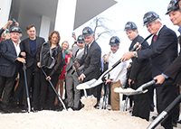 Zaha Hadid at the groundbreaking of her new building One Thousand Museum on December 06, 2014 in Miami, Florida (Photo by Manny Hernandez/Getty Images)