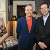 From left: Leonard Steinberg and Herve Senequier of Prudential Douglas Elliman