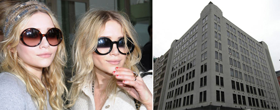 The Row Clothing Nyc From left the Olsen twins and