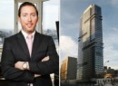 From left: Dan Neiditch, president of River 2 River Realty, and the Atelier building