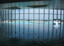 The pool at Revel, a new hotel on the Jersey Shore