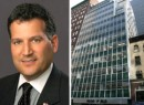 From left: Jon Epstein, principal at Avison Young, and a shot of 20 East 46th Street (credit: PropertyShark)