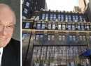 From left: CUNY Chancellor Matthew Goldstein and 50 West 40th Street (credit: PropertyShark)