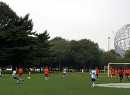 Soccer in Flushing Meadow park