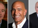 From left: steven Schwarzman of Blackstone Group, Thomas Barrack, chairman and CEO of Colony Capital and John Grayken, founder of Lone Star Funds