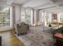 An interior rendering of 18 Gramercy Park